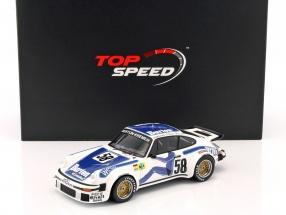 Porsche 934 #58 Winner GT class 24h LeMans 1977 Wollek, Gurdijan, Steve 1:18 TrueScale