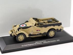 M3A1 Scout Car 5th Field Regiment NZ Artillery Tunesien 1943 braun 1:43 Altaya