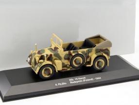 Kfz. 15 Horch 4. Pz.Div. Polen 1944 camouflage 1:43 Altaya