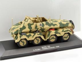 Sd.Kfz. 233 2.Pz.Div. Frankreich 1944 camouflage 1:43 Altaya
