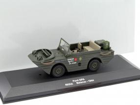 Ford GPA RKKA Weißrussland 1944 dunkel oliv grün 1:43 Altaya