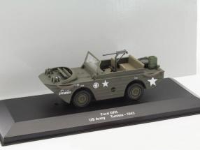 Ford GPA US Army Tunesien 1943 oliv grün 1:43 Altaya