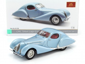 Talbot Lago Coupe T150 C-SS Teardrop Figoni & Falaschi Baujahr 1937-1939 hellblau metallic 1:18 CMC