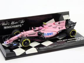 Esteban Ocon Force India VJM10 #31 Australien GP Formel 1 2017 1:43 Minichamps