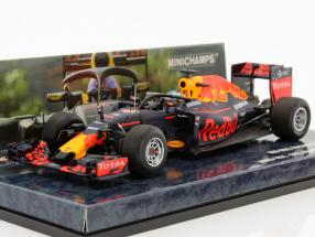 Daniel Ricciardo Red Bull RB12 #3 Halo Test Free Practice Belgian GP formula 1 2016 1:43 Minichamps