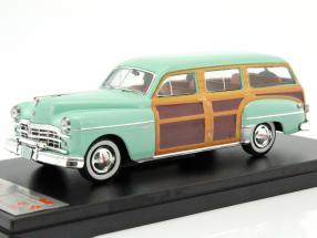 Dodge Coronet Woody wagon year 1949 lime / wood look 1:43 Premium X