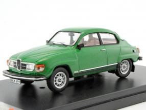 Saab 96 V4 year 1980 green metallic 1:43 Premium X