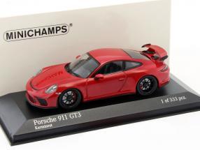 Porsche 911 (991) GT3 MK II Baujahr 2017 karmin rot 1:43 Minichamps