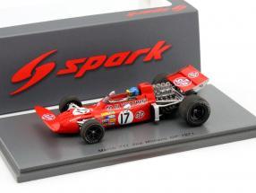 Ronnie Peterson March 711 #17 2nd Monaco GP 1971 1:43 Spark