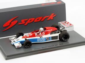 Rene Arnoux Martini MK23 #31 Frankreich GP Formel 1 1978 1:43 Spark