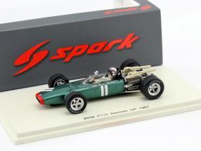 Jackie Stewart BRM P115 #11 Deutschland GP Formel 1 1967 1:43 Spark
