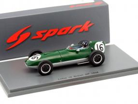 Graham Hill Lotus 16 #16 British GP formula 1 1958 1:43 Spark