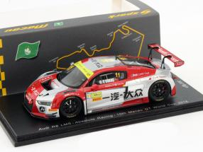 Audi R8 LMS #11 Macau GT World Cup 2016 Cheng Congfu 1:43 Spark