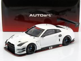 Nissan GT-R Nismo GT3 Baujahr 2015 weiß 1:18 AUTOart