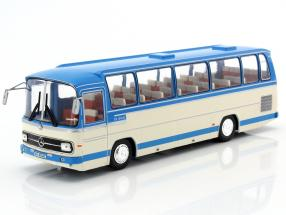 Mercedes-Benz O 302-10R Bus Baujahr 1972 hellblau / weiß 1:43 Ixo