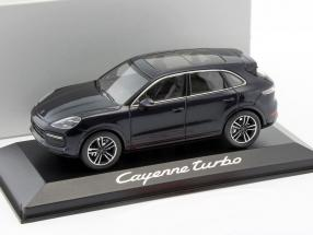 Porsche Cayenne Turbo dunkelblau 1:43 Minichamps