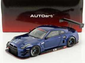Nissan GT-R Nismo GT3 Baujahr 2015 blau metallic 1:18 AUTOart