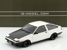 Toyota Sprinter Trueno (AE86) 3-Door GTV weiß 1:18 Ignition Model
