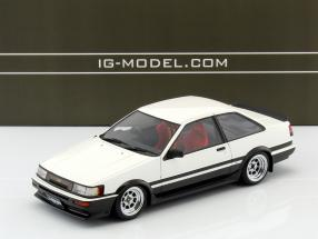 Toyota Corolla Levin (AE86) 2-Door GT Apex weiß / schwarz 1:18 Ignition Model