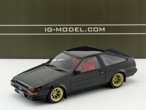 Toyota Sprinter Trueno (AE86) 3-Door GTV schwarz 1:18 Ignition Model