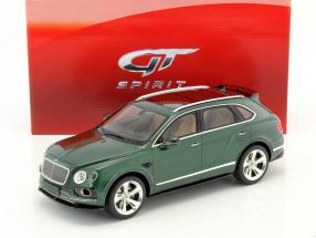 Bentley Bentayga Sport Baujahr 2016 grün metallic 1:18 GT-Spirit