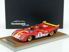 Ferrari 312 PB #1 Winner 1000km Monza 1972 Regazzoni, Ickx 1:18 Tecnomodel