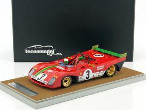 Ferrari 312 PB #3 Winner Targa Florio 1972 Merzario, Munari 1:18 Tecnomodel