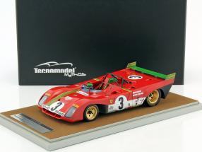 Ferrari 312 PB #3 Winner 1000km Spa 1972 Merzario, Redman 1:18 Tecnomodel