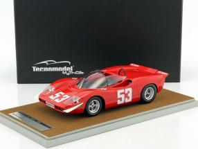 Abarth 2000 S #53 Klassensieger 500km Nürburgring 1969 Hezemans 1:18 Tecnomodel