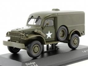 Dodge WC54 US Military dunkel oliv grün 1:43 WhiteBox