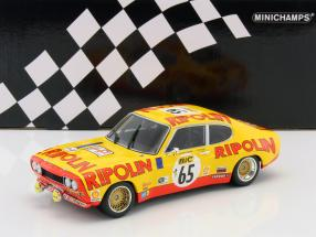 Ford Capri RS 2600 #65 Tour de France Automobile 1972 Larrousse, Rives 1:18 Minichamps