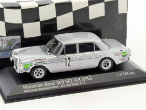 Mercedes-Benz 300 SEL 6.8 AMG #12 12h Paul Ricard 1971 1:43 Minichamps