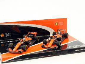 Alonso #14 & Vandoorne #2 2-Car Set McLaren Honda MCL32 Formel 1 2017 1:43 Minichamps