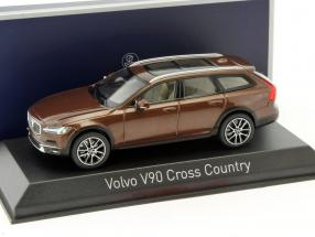 Volvo V90 Cross Country Baujahr 2017 braun 1:43 Norev
