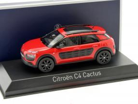 Citroen C4 Cactus Baujahr 2014 rot / schwarz 1:43 Norev
