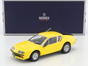 Renault Alpine A310 Baujahr 1977 gelb 1:18 Norev