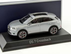 Citroen DS 7 Crossback Baujahr 2017 grau metallic 1:43 Norev