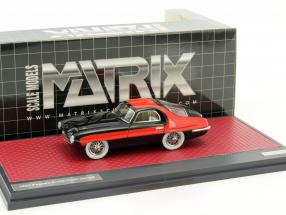 Pegaso Z-102 Thrill Coupe Baujahr 1953 rot / schwarz 1:43 Matrix