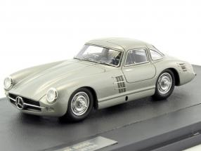 Mercedes-Benz 300SL Transaxle Prototype W194 year 1953 silver metallic 1:43 Matrix