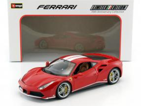 Ferrari 488 GTB The Schumacher 70th Anniversary Collection rot 1:18 Bburago