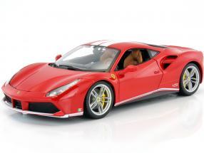 Ferrari 488 GTB The Schumacher 70th Anniversary Collection red 1:18 Bburago