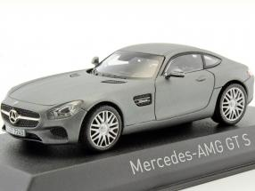 Mercedes-Benz AMG GTS year 2015 mat gray metallic 1:43 Norev