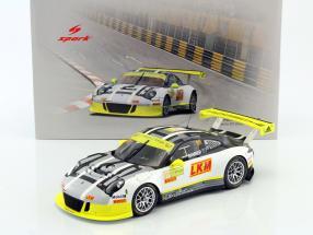 Porsche 911 (991) GT3 R #911 Macau GT World Cup 2016 Bamber 1:18 Spark