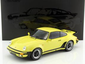 Porsche 911 (930) Turbo year 1977 light yellow 1:12 Minichamps