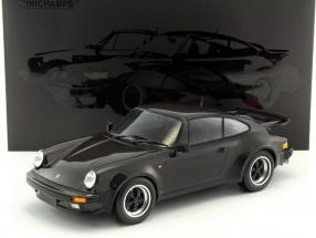 Porsche 911 (930) Turbo Baujahr 1977 schwarz 1:12 Minichamps