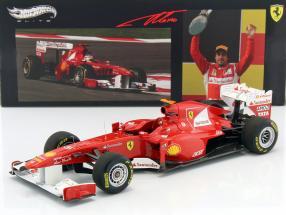 Alonso Ferrari 150° Italia GP Türkei Formel 1 2011 1:18 HotWheels Elite