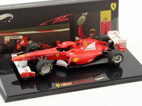 F. Alonso Ferrari 150° Italia GP Türkei Formel 1 2011 1:43 HotWheels Elite