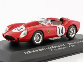 Ferrari 250 Testa Rossa #14 Winner 24h LeMans 1958 Gendebien, Hill 1:43 Ixo