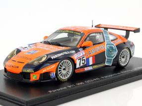 Porsche 911 (996) GT3-RS #75 24h LeMans 2001 Perrier, Neugarten, Smith 1:43 Spark