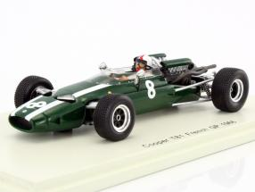 Chris Amon Cooper T81 #8 France GP formula 1 1966 1:43 Spark